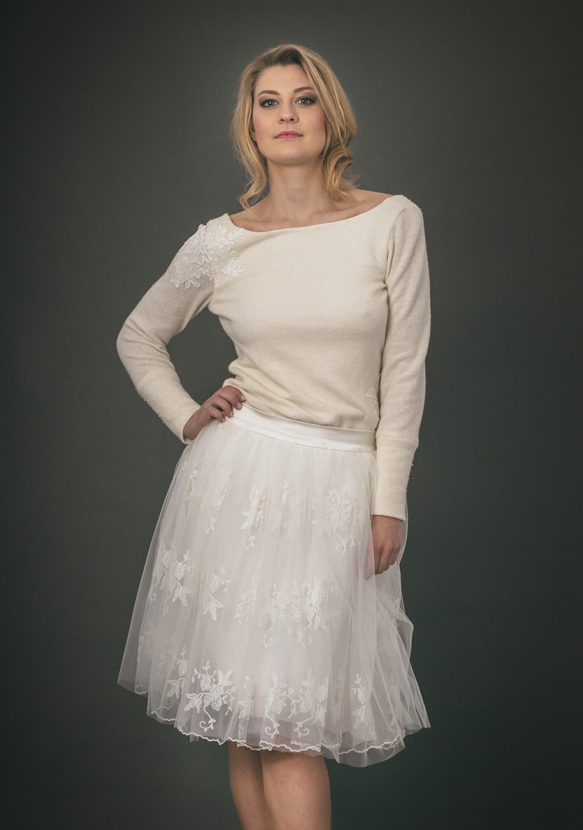 Zweiteiliges Brautkleid: DAISY & BO LIGHT - ANNE WOLF