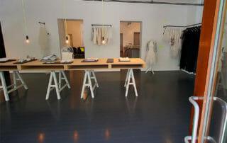 Der Showroom unseres Brautgeschäfts in Berlin.