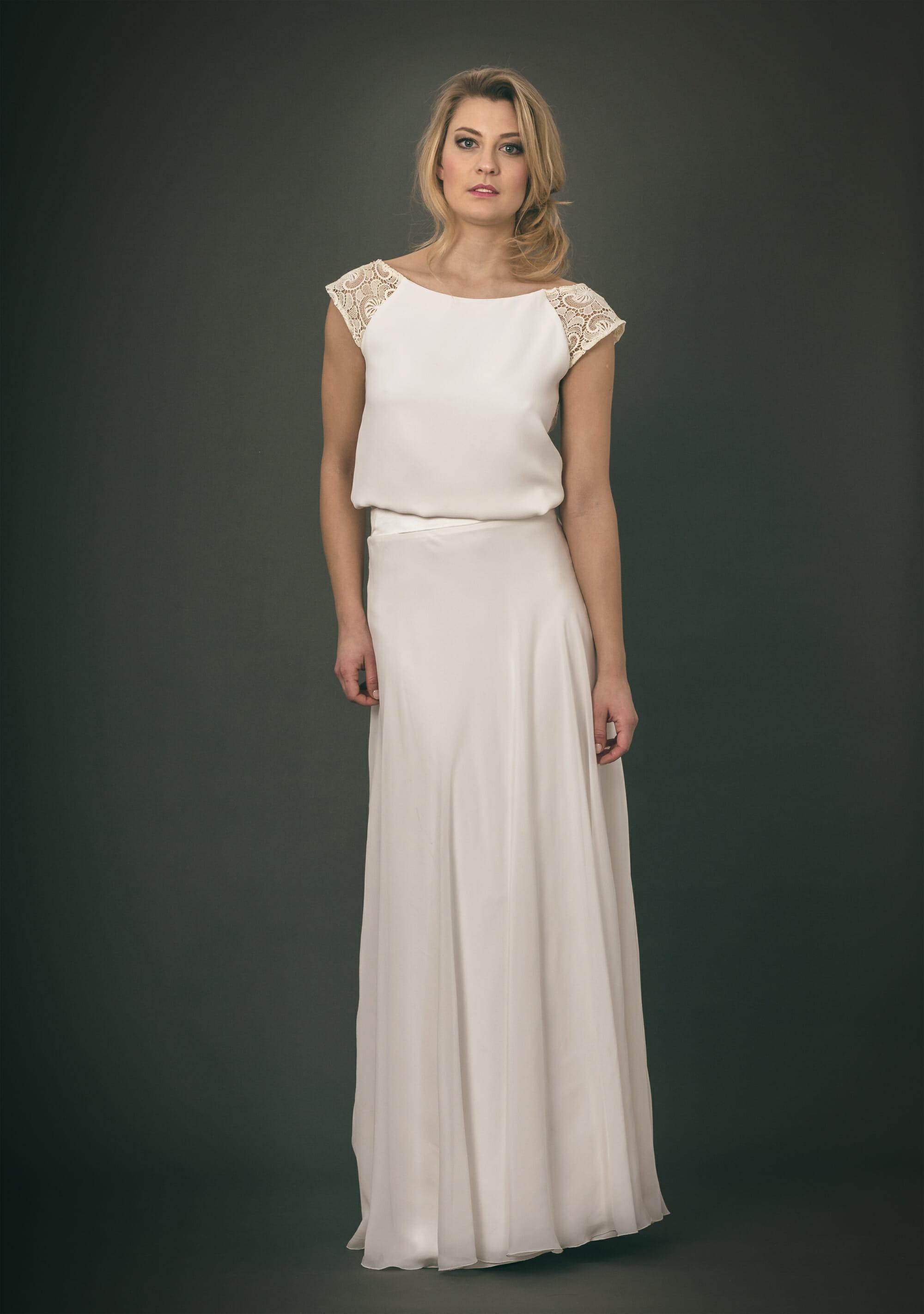 Zweiteiliges Brautkleid: MEGAN & VALENTINA - ANNE WOLF