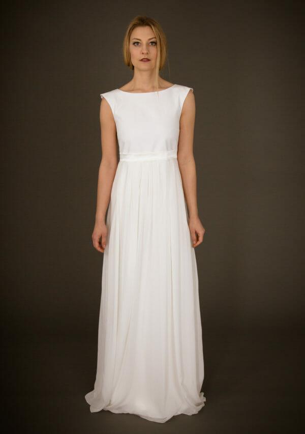 Brautkleid von ANNE WOLF. Modell Clara.