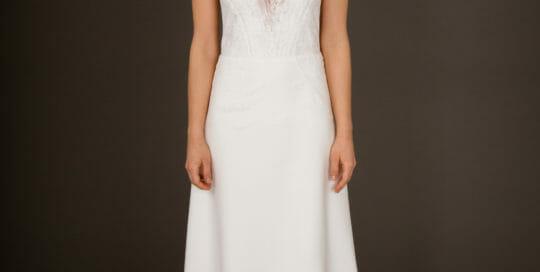 Brautkleid von ANNE WOLF. Modell Glorya.