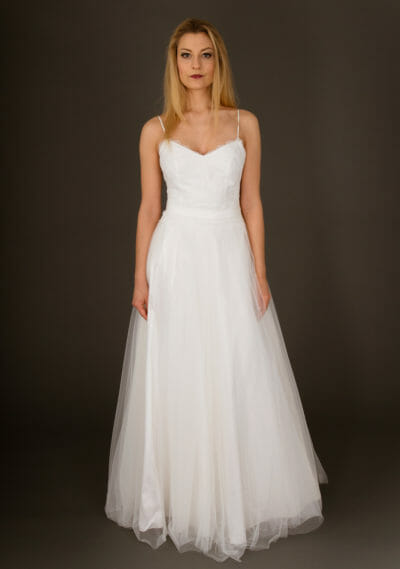 Brautkleid von ANNE WOLF. Modell Heather.