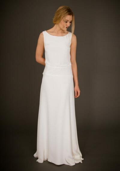 Brautkleid von ANNE WOLF. Modell Hillary.