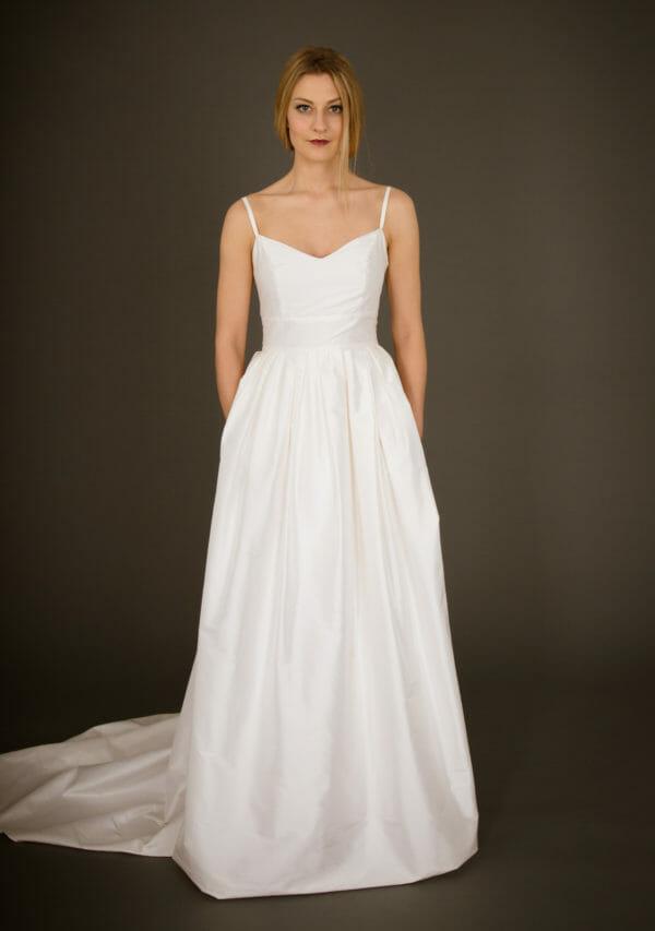 Brautkleid von ANNE WOLF. Modell Jolina.
