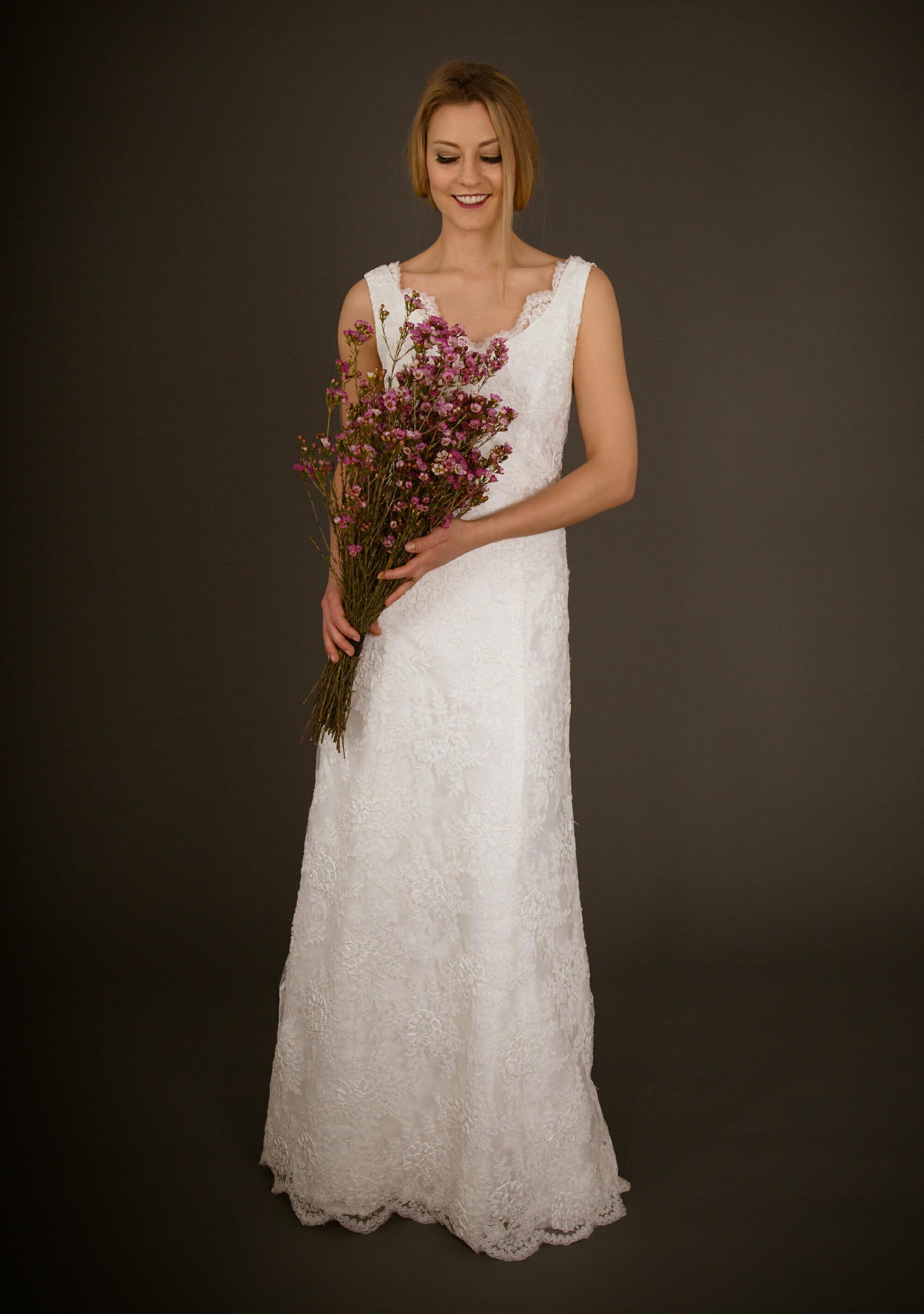Brautkleid von ANNE WOLF. Modell Svea.