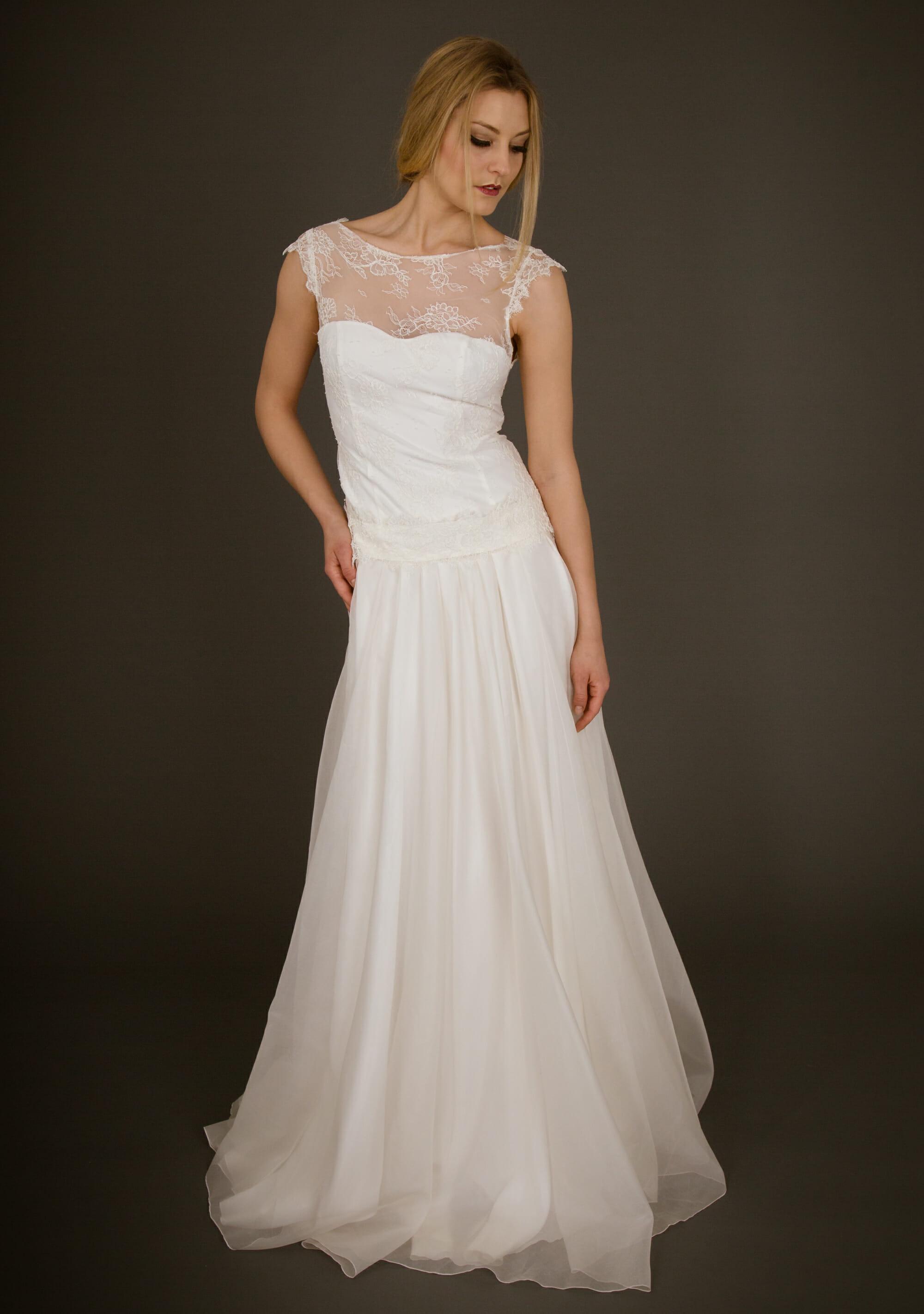 Brautkleid von ANNE WOLF. Modell Greta.
