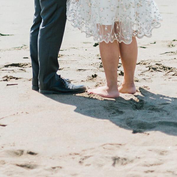 Brautkleid für Strandhochzeit in Berlin